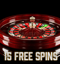 15 Free Spins Bonus